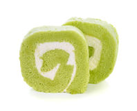 Roll cake Stock Photo