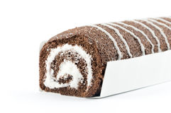 Roll cake Royalty Free Stock Photo