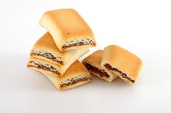 Roll cakes Royalty Free Stock Images