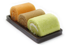 Roll cakes Stock Images