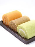 Roll cakes Stock Photo