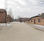 Roll-call Square at  Auschwitz 1 Royalty Free Stock Photos