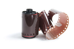 Roll of Camera Film Stock Photo