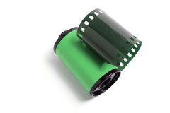 Roll of Camera Film Stock Image