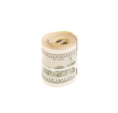 Roll of cash Royalty Free Stock Images