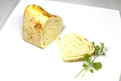 Roll cheese Royalty Free Stock Images