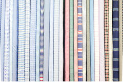 Roll of cloth fabric Stock Image