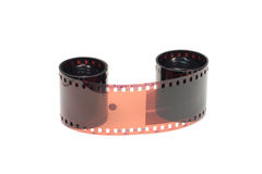 Roll of color film Royalty Free Stock Photos