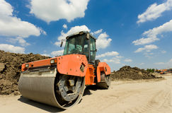 Roll compactor Stock Images