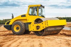 Roll compactor Stock Photo