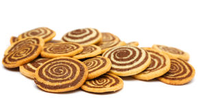Roll cookies Royalty Free Stock Photography