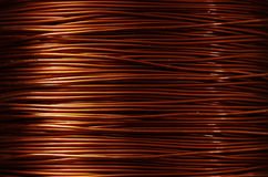 Roll of copper Stock Photos