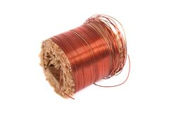 Roll of copper Royalty Free Stock Photo