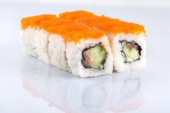 Roll the delicious sushi Royalty Free Stock Images