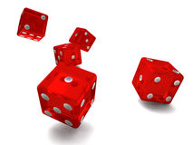 Roll of the dice Stock Image