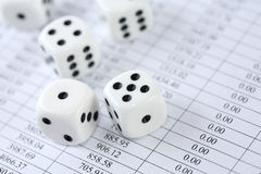 Roll Of The Dice Stock Photos