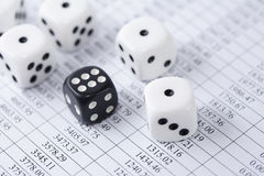 Roll Of The Dice Stock Images