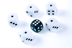 Roll Of The Dice Royalty Free Stock Photography