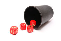 Roll the dice Stock Photos