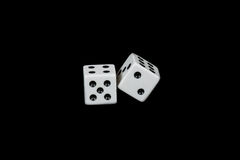 Roll of the dice Stock Photography