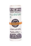 Roll of Dollar Banknotes Royalty Free Stock Photography