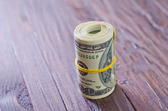 Roll from dollar Royalty Free Stock Photography