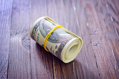 Roll from dollar Royalty Free Stock Images