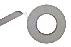 Roll of Duct or Gaffers Tape Royalty Free Stock Images