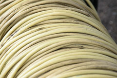 Roll of electical cable Royalty Free Stock Photo