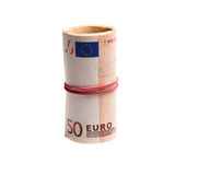 Roll euro Royalty Free Stock Photography