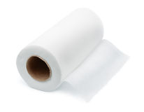 Roll of fabric towels Stock Image