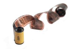 Roll of film stock photos