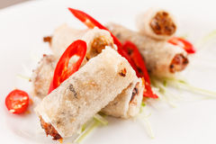 Roll food wrappers Stock Photography