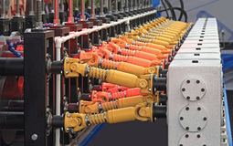 Roll Forming Machine Stock Photography