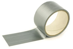Roll of gaffer tape (duct tape) Royalty Free Stock Images