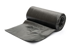 Roll of garbage bags Royalty Free Stock Photos
