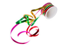 Roll of Gift Ribbons Stock Photos