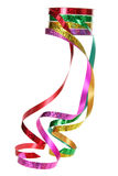 Roll of Gift Ribbons Royalty Free Stock Image