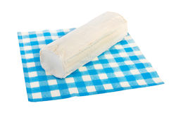 Roll goat cheese Royalty Free Stock Photos