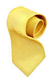 Roll of golden tie Stock Photos