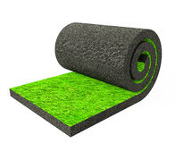 Roll grass Royalty Free Stock Photo