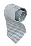 Roll of gray tie Royalty Free Stock Images