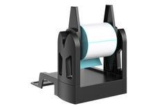 Roll holder paper Stock Photo