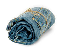 Roll jeans Royalty Free Stock Photos