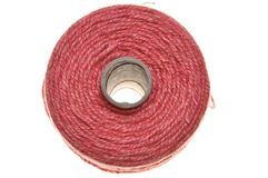 Roll of jute line Stock Images