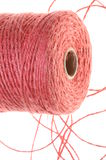 Roll of jute line Royalty Free Stock Photos
