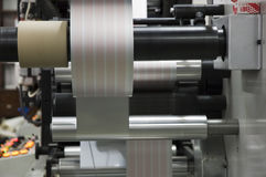 Roll machine Royalty Free Stock Image