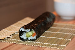 Roll of maki Royalty Free Stock Images
