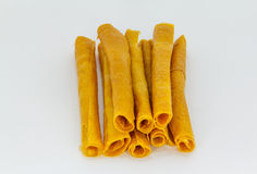 Roll of mango sheet Stock Photo