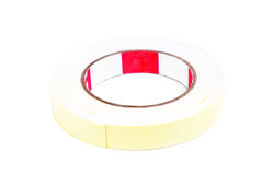 Roll of masking tape on white Royalty Free Stock Photo